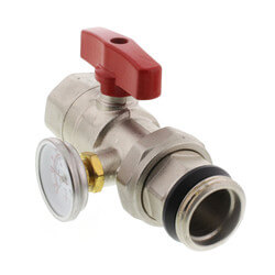 Replacement Ball Valve for Rifeng Manifolds (Red)