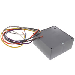 Enclosed Relay 20 Amp DPDT with 120 VAC Coil Product Image