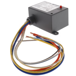 ribuc functional devices ribuc enclosed pilot relay amp enclosed relay 20 amp spdt 24 vac dc 120 vac coil product image