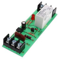 """4"""" Track Mount Relay 15 Amp SPDT w/ 10-30 VAC/DC/120 VAC Coil Product Image"""