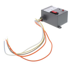 Enclosed Relay 10 Amp SPST & Override w/ 10-30 VAC/DC/120 VAC Coil Product Image