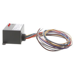 Enclosed Relay 10 Amp 2 SPDT & Override w/ 10-30 VAC/DC/120 Vac Coil Product Image