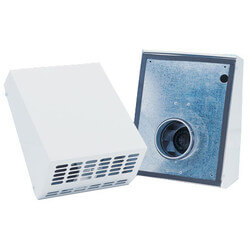 "4"" Exterior Wall Mount<br>Fan with EC Motor,<br>80 W, 1.51 A (120V) Product Image"