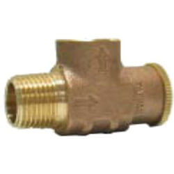 "1/2"" Brass Relief Valve, Non-Adjustable (Lead Free) Product Image"