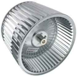 """10 x 8 CW Blower Wheel<br>(1/2"""" Bore) Product Image"""