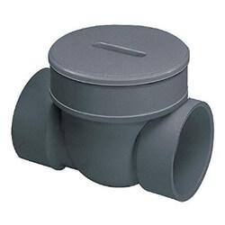 "3"" PVC Backwater Valve (Socket x Socket) Product Image"