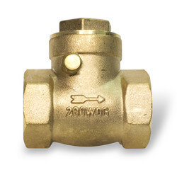 "1-1/2"" Threaded Swing Check Valve, Lead Free"