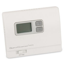 Non-Programmable SimpleComfort Heat Only Thermostat (w/o Fan Switch) - Single Stage