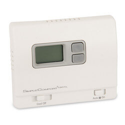 Non-Programmable SimpleComfort Cool Only Thermostat - Single Stage