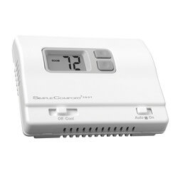 Non-Programmable 1-Stage Cool Only SimpleComfort Thermostat Product Image