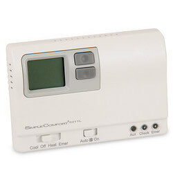 Non-Programmable SimpleComfort Thermostat - 3 Heat/2 Cool Heat Pump Only