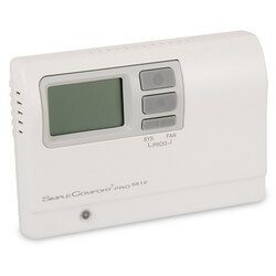 SimpleComfort PRO Series Programmable Thermostat - 3 Heat/2 Cool/2 Heat Pump