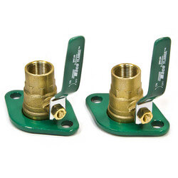 "3/4"" Threaded Shut-Off Freedom Swivel-Flange Set"
