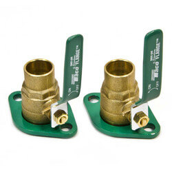 "1"" Sweat Shut-Off Freedom Swivel-Flange Set"