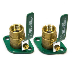 "1"" Threaded Shut-Off Freedom Swivel-Flange Set"
