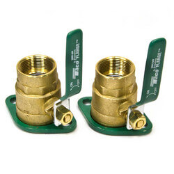"1-1/4"" Threaded Shut-Off Freedom Swivel-Flange Set"
