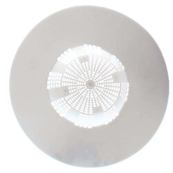 "5-1/8"" Hair Strainer (White) Product Image"