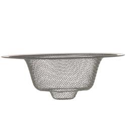 "4-3/8"" Universal Kitchen Mesh Sink Strainer (Chrome) Product Image"