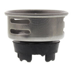 """2 to 2-1/2"""" Jr. Duo Replacement Basket Strainer (Chrome) Product Image"""