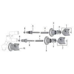 Crane Riviera Tub/Shower Rebuild Kit Product Image