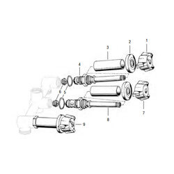 Eljer 3-Handle Tub/Shower Rebuild Kit Product Image
