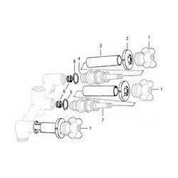 Price Pfister 3-Handle Tub/Shower Rebuild Kit Product Image