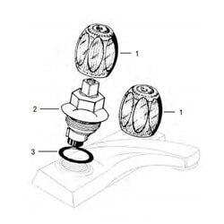 Sterling Washerless Lav/Kitchen Rebuild Kit Product Image