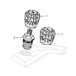 Streamway/Phoenix 2-Handle Lav/Kitchen Rebuild Kit Product Image