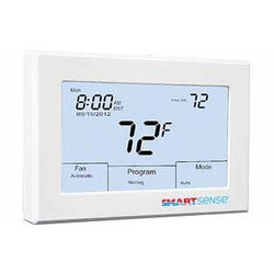 Smart Sense SMART 1000 Digital Prog. Tstat, Battery or 24 VAC (3H/2C) Product Image