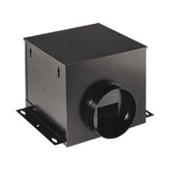 "SP100 Single-Port Remote In-Line Vent Fan<br>6"" Round Duct, 110 CFM Product Image"