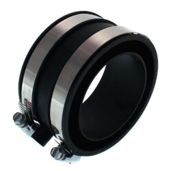Rubber Coupling Power Vent Blower Exhaust Product Image