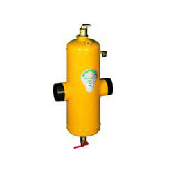 "2-1/2"" Spirovent Drain High Velocity Steel Air and Dirt Separators with removable head (Flanged)"