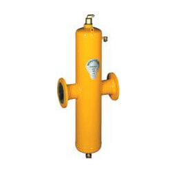 "2-1/2"" Spirotrap THT High Velocity Dirt Separators (Flanged)"