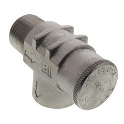 "1/2"" Stainless Steel Relief Valve, Non-Adjustable (Lead Free) Product Image"