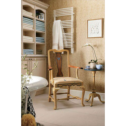 """20"""" x 34"""" Solea Direct-wire Electric White Towel Radiator (STRED-3420) Product Image"""