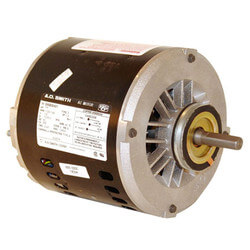 "6-1/2"" 2-Speed Evap. Cool Motor (230V, 1725/1140 RPM, 1/2~1/6 HP) Product Image"