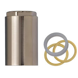 Mixet Retainer Nut Valve Repair for Single Handle Faucets (Satin Nickel) Product Image
