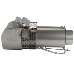 "5"" Stainless Steel Power Venter (290,000 BTU) Product Image"