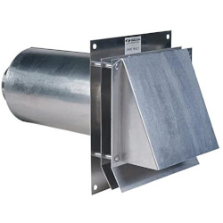 "5"" Aluminum Vent Hood Product Image"