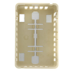 Beige Thermostat Cover Exposed Setpoint<br>(Vertical Mount) Product Image