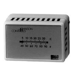 Nickel Plated Thermostat Cover, w/o window (Horizontal Mount) Product Image