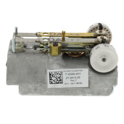 Direct Acting Dual Temperature Horizontal Pneumatic Thermostat (cover sold separately)