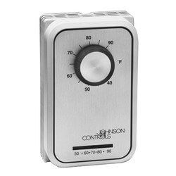 Line Voltage Thermostat 5 to 30C, w/ Thermometer