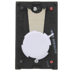 T410 Electric Heat Thermostat w/ Position<br>Off Switch (White) Product Image