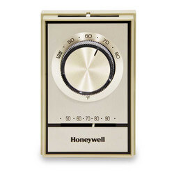 T498 Electric Heat Thermostat w/<br>Range Stops (Beige) Product Image