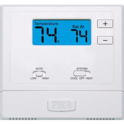 T631W-2 Wireless PTAC Non-Programmable Thermostat