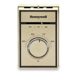 Medium Duty Line Voltage Thermostat, 44-86F