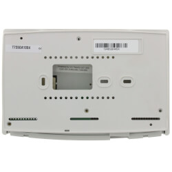 Programmable Commercial Thermostat with 1 Heat/1 Cool stages (24V) Product Image