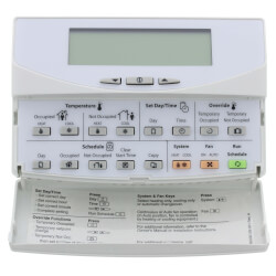 Programmable Commercial Thermostat with 3 Heat/3 Cool stages