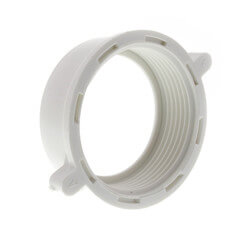 """1-1/2"""" Plastic Slip Joint Nut w/ Wings (Box of 100) Product Image"""